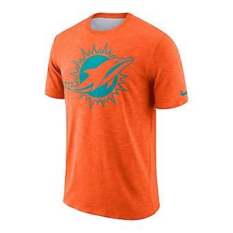 Nike Nfl Miami Dolphins Sideline Slub Performance T-shirt