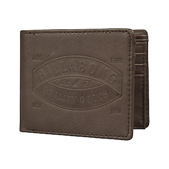 Billabong Junction Faux Portefeuille en cuir en brun