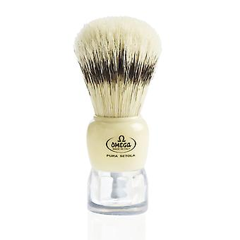 Omega 81054 Ren Bristle Shaving Brush