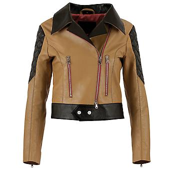 "JN Llovet leather jacket - ""Flores"""
