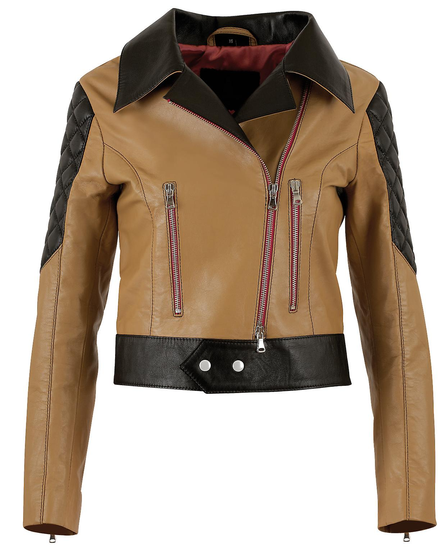 JN Llovet leather jacket -