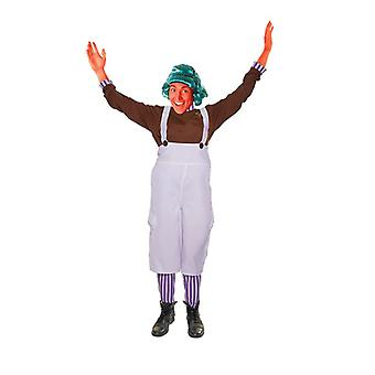 Bnov Chocolate Factory Worker Unisex Costume