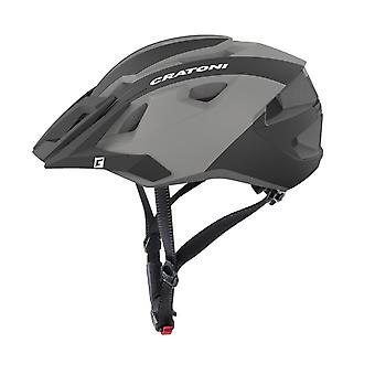 CRATONI AllRide bike helmet / / black/anthracite matt