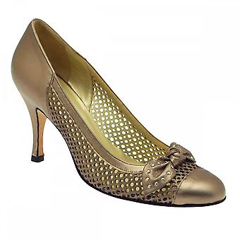 Sabrina Chic Pewter Bow/lace High Court