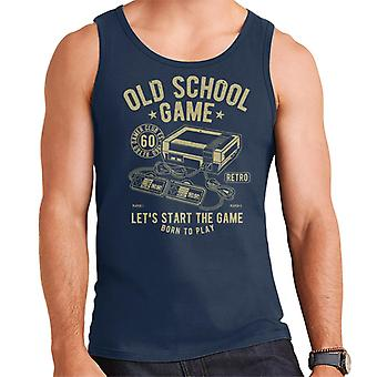 Old School Game Games Console Men's Vest
