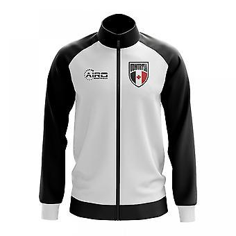 Udmurtian käsite jalkapallo Track Jacket (valkoinen)