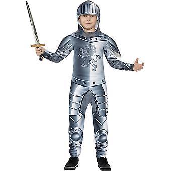 Gepanzerte Ritter Kostüm Deluxe, Medium Jahre 7-9
