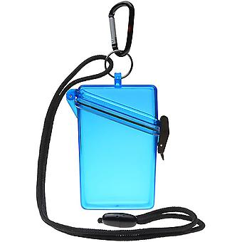 Witz houden duidelijk lichtgewicht waterdichte Sport Case - blauw