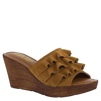 Bella Vita Womens Bey-Italy Leather Open Toe Special Occasion Platform Sandals