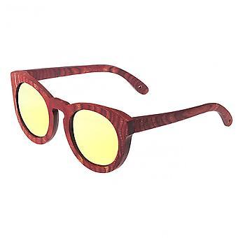 Spectrum Aikau Wood Polarized Sunglasses - Cherry/Gold