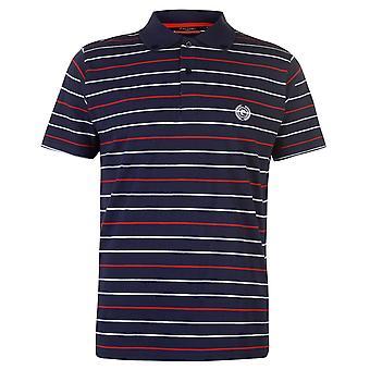 ピエール ・ カルダン メンズ ストライプ 3 ポロシャツ T シャツ半袖トップスします。