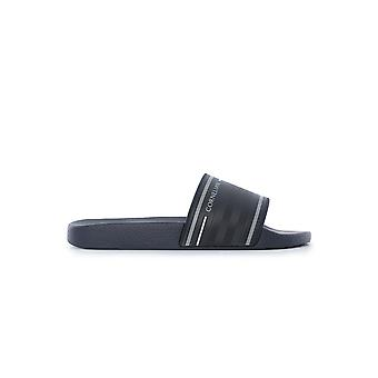Corneliani 83tm819120958001 Men's Blue Pvc Sandals