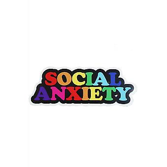 Extreme Largeness Social Anxiety Vinyl Sticker