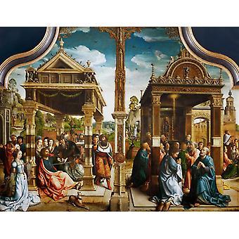 מזבח ל-SS תומס ומתיאס, ברנרט וואן אורלי, 50x40 ס מ