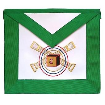 Masonic Scottish Rite Leather Masonic Apron - AASR - 5th Degree