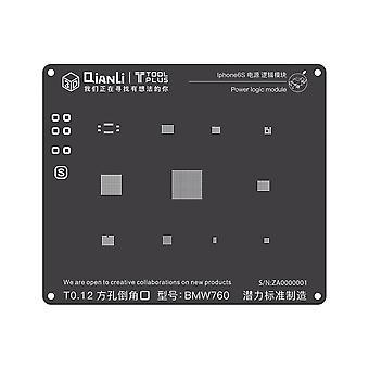 QianLi 3D BGA Stencil Template - Power Logic Module - iPhone 6S - BMW760