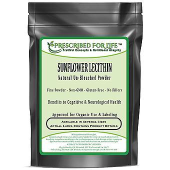 Lesitiini-auringon kukka-Natural YK-valkaistu ei-GMO kosher Powder-ei täyte aineita