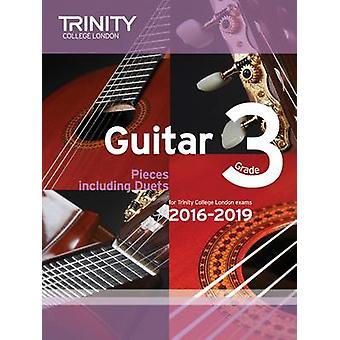 Guitar Exam Pieces Grade 3 2016-2019 by Trinity College London - 9780