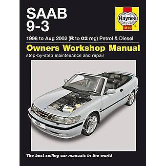 Saab 9-3 Petrol and Diesel Service and Repair Manual - 9781785212772