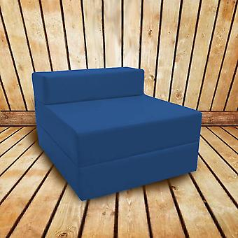 Plegable resistente al agua sofá cama de una sola Z-gris oscuro