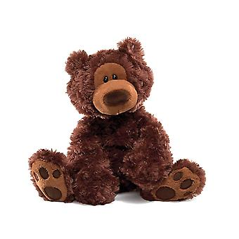 GUND 6052813 Philbin Bear Chocolate Small Soft Toy