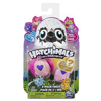 Hatchimals Colleggtibles 2-pack + nest seizoen 2 kinderen speelgoed spelen fun kids gift #6041329