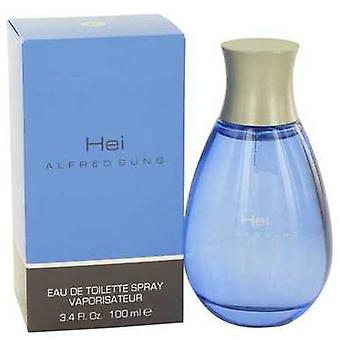 Hei de Alfred Sung EAU de Toilette Spray 3,4 oz (barbati) V728-402972