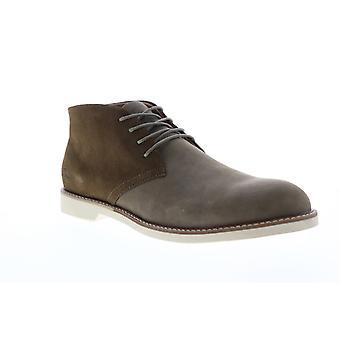 Original Penguin Lex Shiitake  Mens Brown Gray Mid Top Chukkas Boots