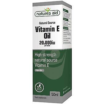 Natuur ' s Aid vitamine E olie 20; 000iu 50ml (137510)