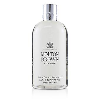 Molton Brown Serene Coco & Sandalwood Bath & Shower Gel - 300ml/10oz