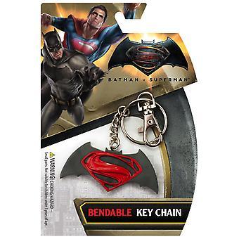 Key Chain - DC Comics - Batman vs Superman Movie Logo New krb-3960
