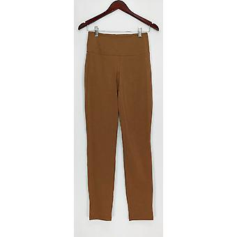 Women with Control Women's Pants XXS Tall Tummy Boot Cut Brown A266905
