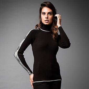 AA Platinum Womens Ladies Polo Neck Crew Sweater Jumper Pullover Breathable