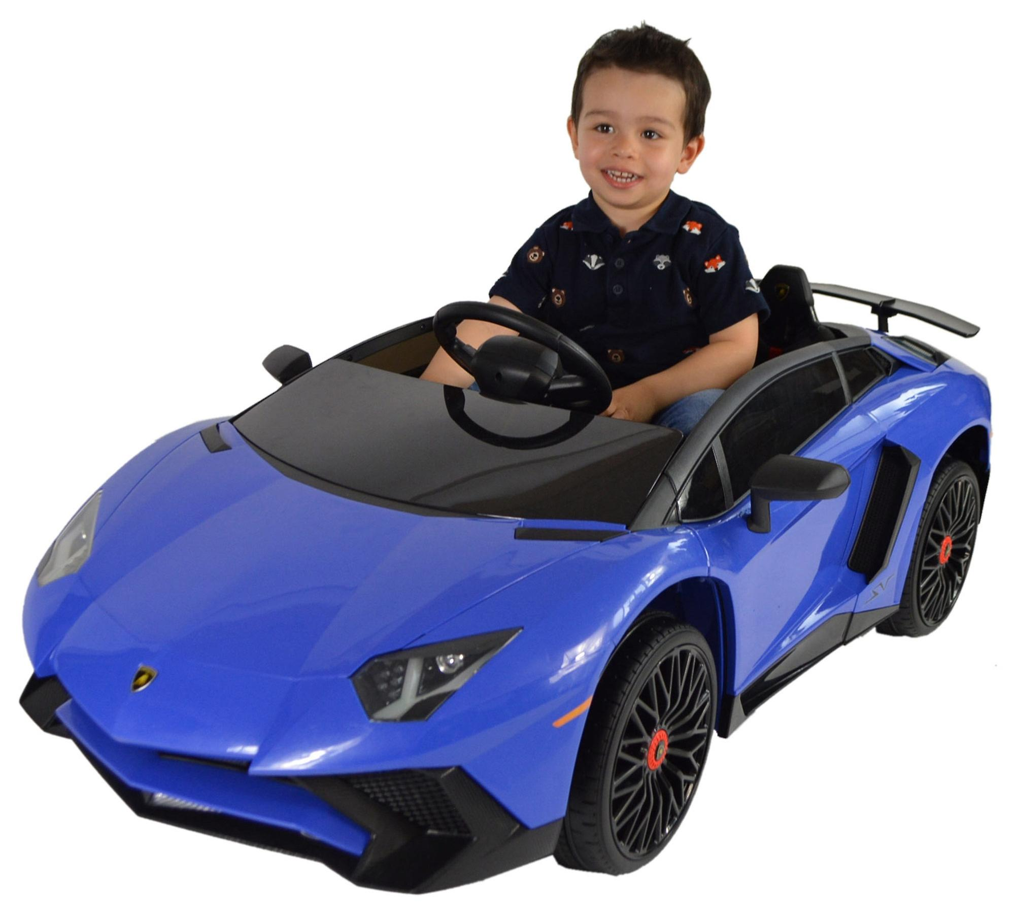 Licensed Lamborghini Aventador Roadster 12v Kids Electric Ride On Car
