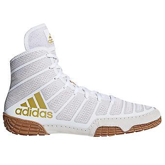 Adidas Varner Herre voksen Wrestling sko Boot hvid