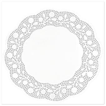 Ibili Round Lace 10 Units 34 Cm (Kitchen , Bakery , Bases and Boxes)