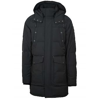 Moose Knuckles Black Miscou Island Hood Jacket
