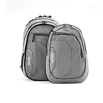 Rucksack Doubler Schulrucksack/Backpack Grey Gray Doppelt 2 in 1 25-10l mit 15 -6' Laptopfach Casual Backpack - 48 cm - 35 liters - Grey Gray