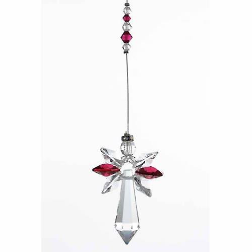 Ruby Guardian Angel Crystal Large