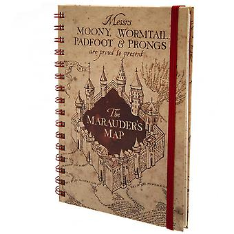 Harry Potter Marauders Map Notebook