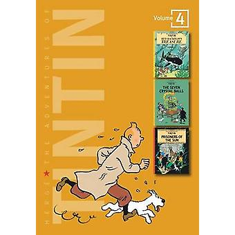 Adventures of Tintin 3 Complete Adventures in 1 Volume - Red Rackham's