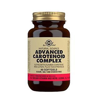 Solgar naturlig kilde avansert karotenoid kompleks Softgels 60 (35)