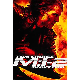 Mission Impossible 2 (Advance) (Double Sided) (Uv Coated/High Gloss) Original Cinema Poster