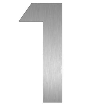 Nathan house number MIDI 1 stainless steel 64471-072