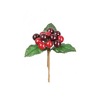 11cm Mixed Berry Pick for Floristry Crafts