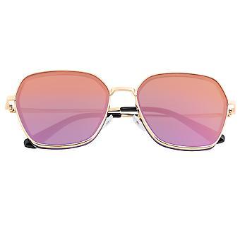 Lunettes de soleil polarisées Bertha Emilia - Or/Purple-Or