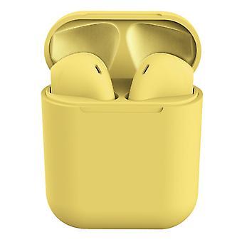 I12 Auriculares inalámbricos-amarillo