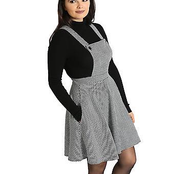 Hell Bunny Harvey Pinafore Dress XL