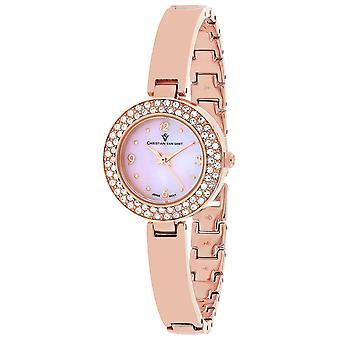Christian Van Sant Women's Palisades Pink MOP Dial Watch - CV8614