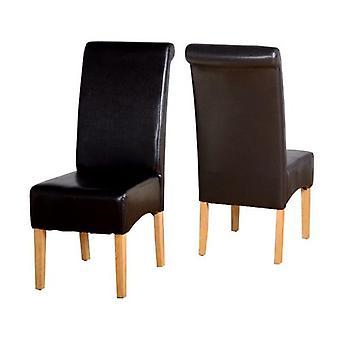 Krzesło G10 - Brown Pu